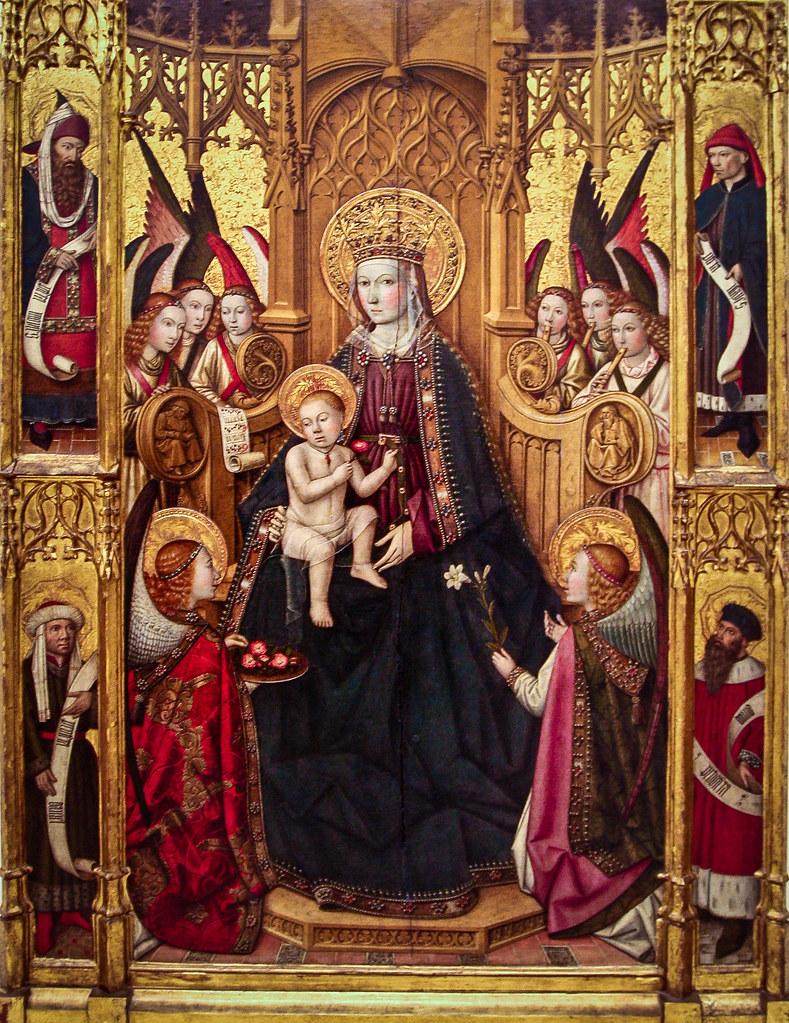 Mare de Deu, Jaume Huguet, 1450