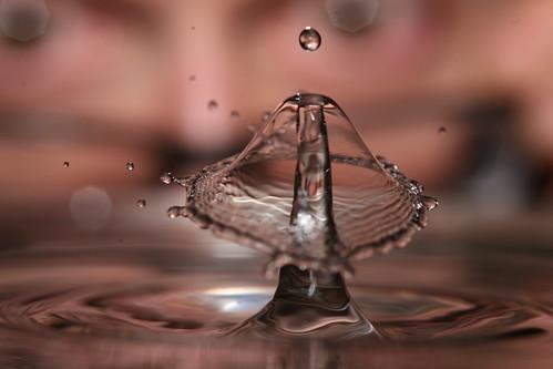 When Water Drops Collide | by laszlo-photo