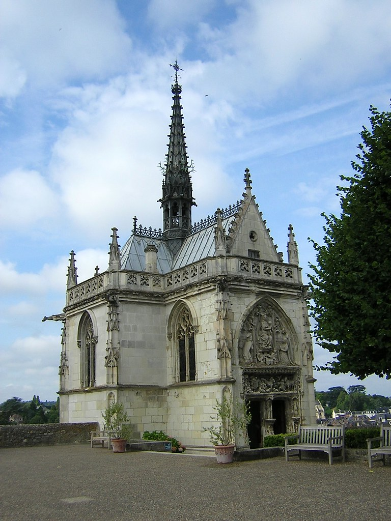 Tumba De Leonardo Da Vinci Castillo De Amboise Amboise I Flickr