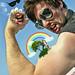 Muscle Man in the Garden of Eden by travistips