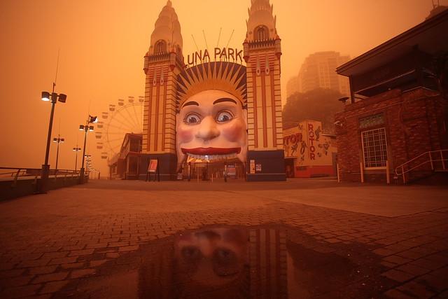Luna Park - Sydney Dust Storm