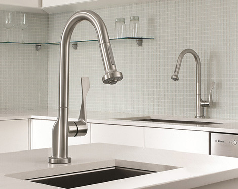hansgrohe-commercial-style-kitchen-faucets | colorhome | Flickr