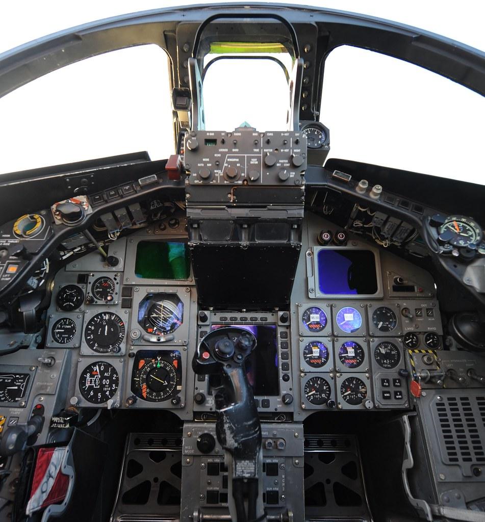Tornado cockpit