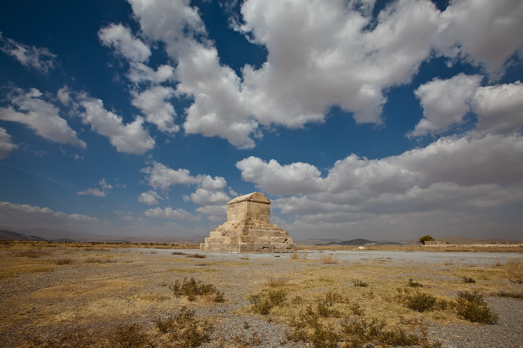 Tomb of Cyrus the Great - Around Shiraz, Iran