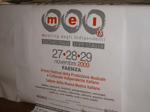 MEI Faenza 27/28/29 Novembre 2009