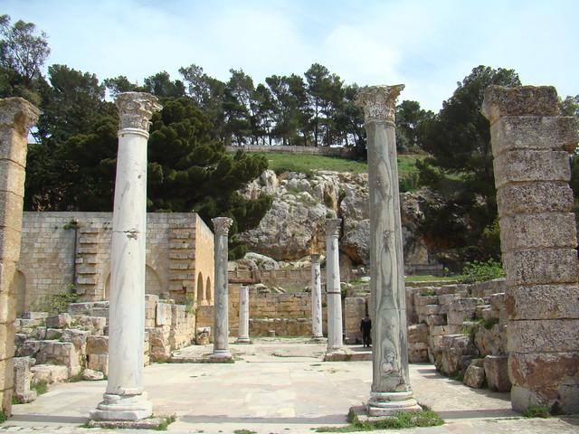 Libia Termas de Trajano Cirene 10