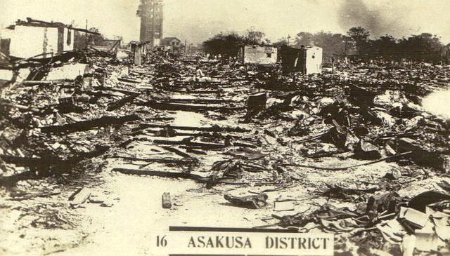 Tokyo- Asakusa District- vintage postcard c.1945- 25-12-2009 09;04;41