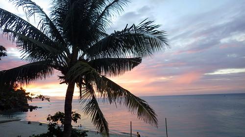 sunset philippines puertogalera
