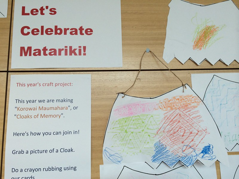 South Library Matariki art project