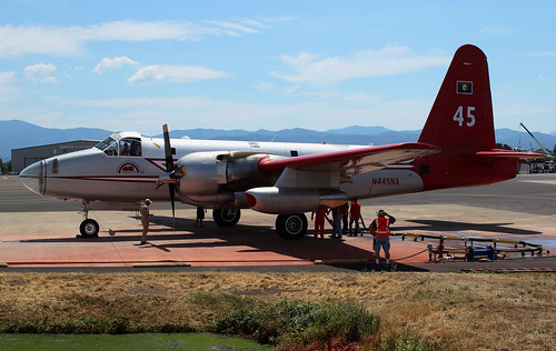 N445NA Neptune Aviation P-2V7 Tanker 45 | by Tim Crippin