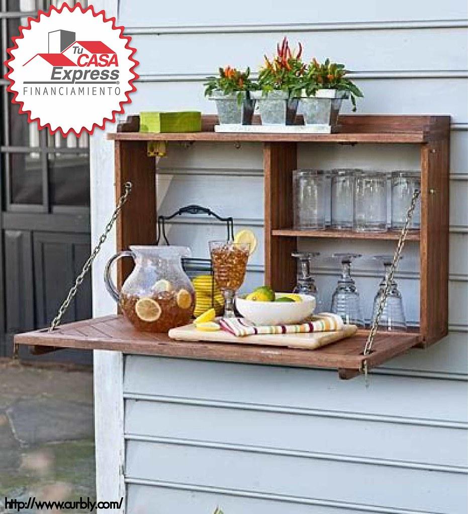 Mesa Plegable Ideal Para El Jardín O Terraza Tu Casa