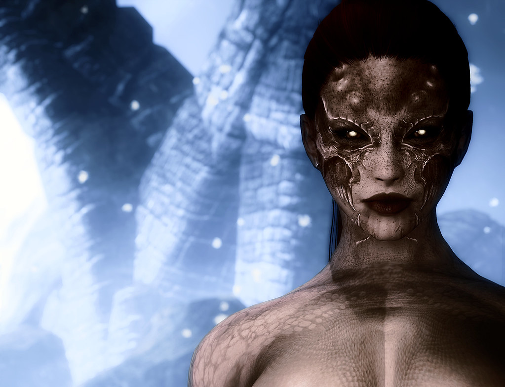 Daedric Princess Nox - Skin Texture And Playable Character