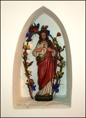 Christ of the flowers