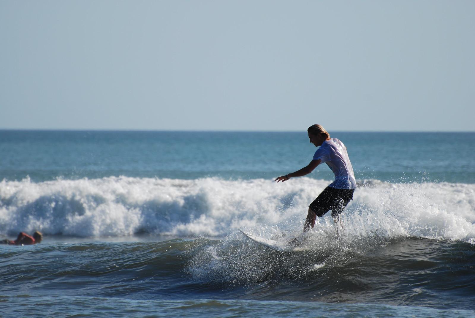 Surfer on Kuta sea
