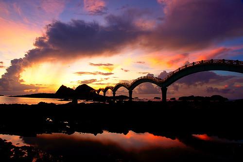 三仙台橋日出