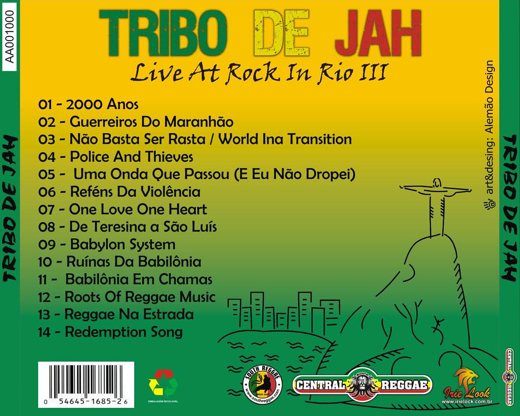 Contra Capa CD Tribo de Jah - Live At Rock In Rio III | Flickr