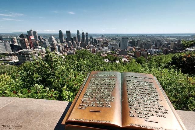 Belvédère Kondiaronk du Mont-Royal - Montréal  (Québec, Canada)