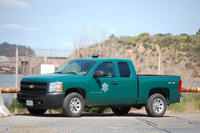 California Department Of Fish And Game Warden Truck Flickr