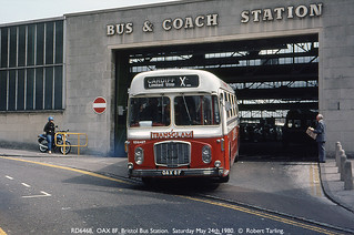 National Welsh Bristol RE RD6468, May 24th 1980. | by Bristol RE