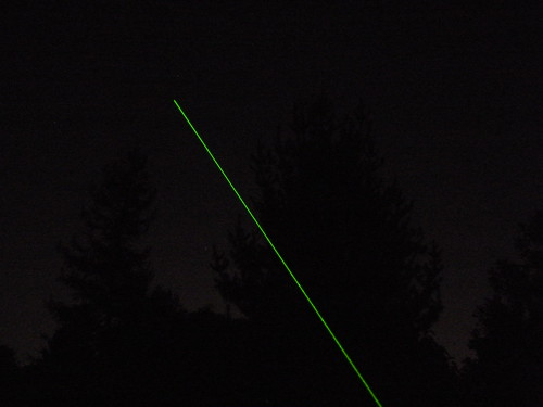 "Wicked Lasers ""Spyder I Pro"" laser - nighttime beam shot #1   by Danny / ixfd64"