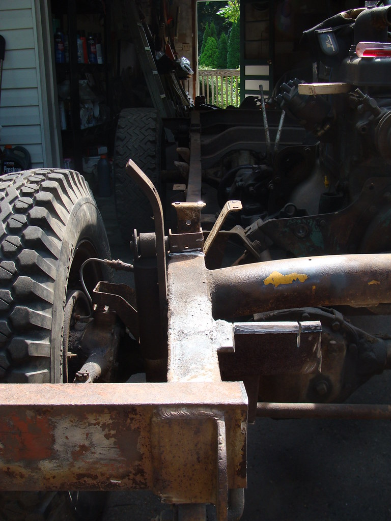 1947 Willys Jeep CJ2A chassis (restoration) | May be difficu