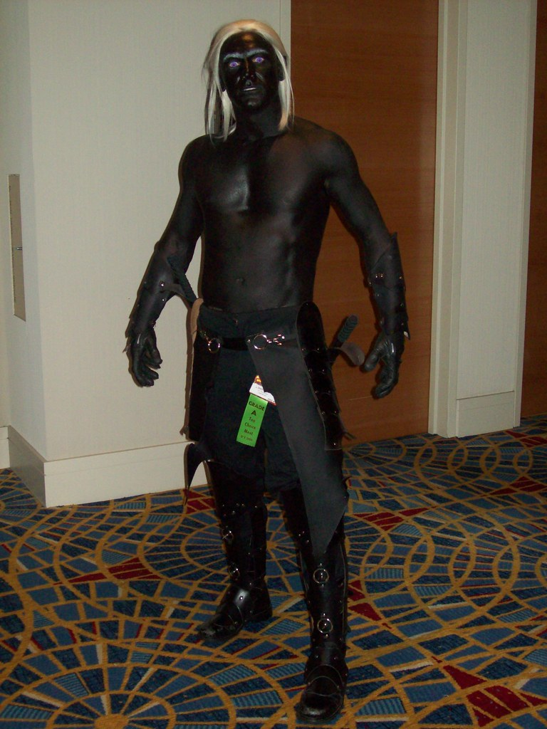 438 Drizzt Do'Urden - Forgotten Realms | Dragon*Con 2009, Ha