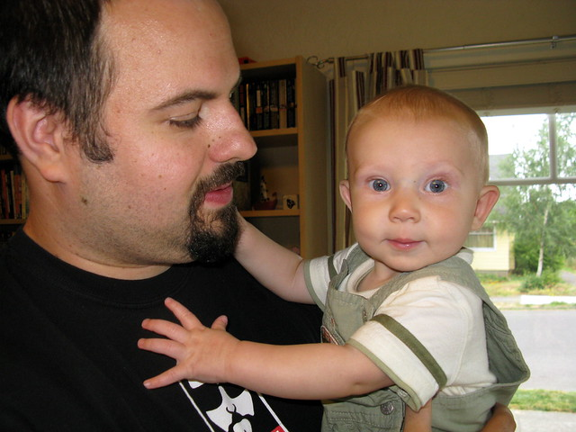 Theo with Uncle Scott