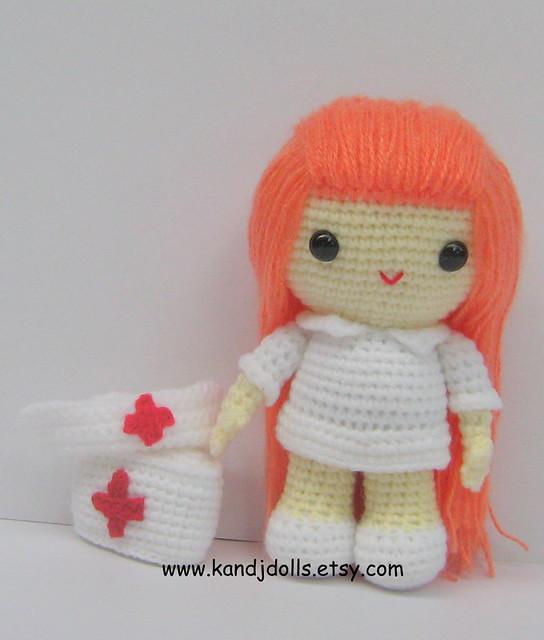 Nurse Jazzy Amigurumi Crochet Pattern For Sale On Wwwka Flickr