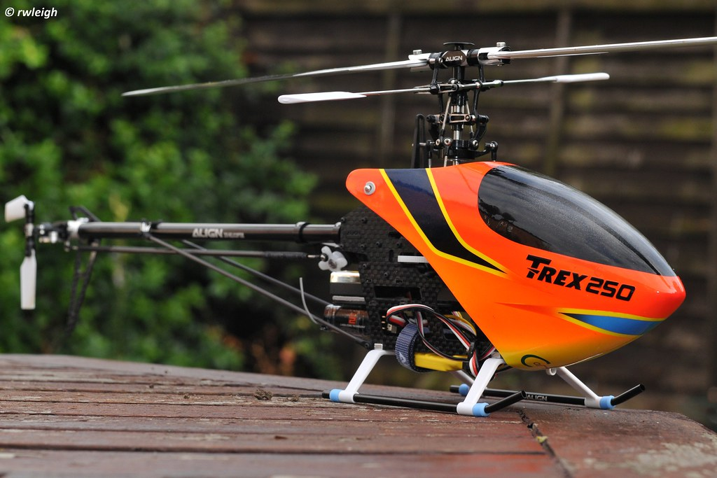Align Trex-250 RC helicopter  | A photo of my Align Trex-250… | Flickr