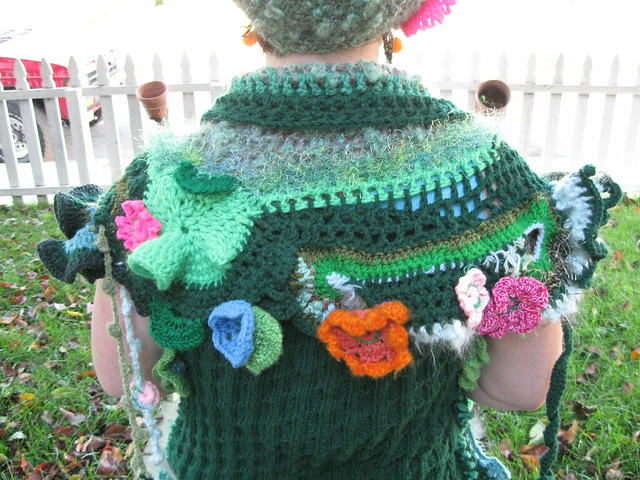 Garden Costume back (detail)