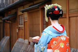 G I O N Maiko Henshin Kyoto Is Dotted With Photo Studios Flickr