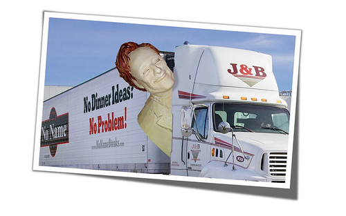 Conan O'Brien Bacon Chocolate Head Taking Off From No Name Steaks Headquarters In St. Michael, Minnesota