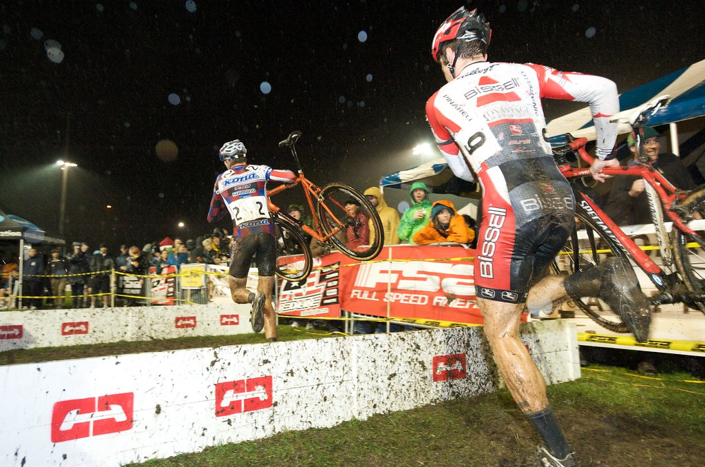The barriers and the beer tent  | Starcrossed Cyclocross Rac… | Flickr