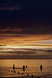 Jamaican sunset.