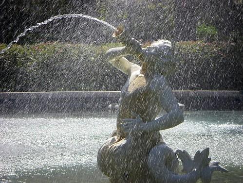 sea fountain ga georgia photo view image picture photograph savannah mythology triton 1858 waterspout monumental chathamcounty forsythpark vanishingsouthgeorgia copyrightbrianbrown basedonafountainattheplacedelaconcordeparis