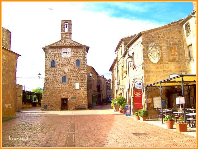 Sovana Un antico borgo Etrusco nella Maremma Toscana