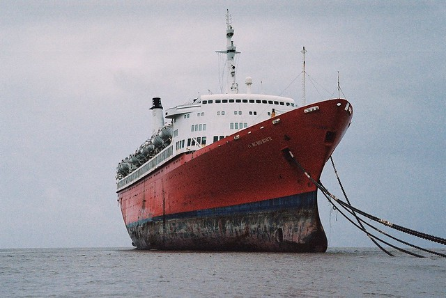 The end of The Big Red Boat II