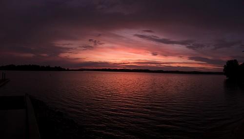 sunset panorama nc pano unitedstatesofamerica mooresville lakenorman