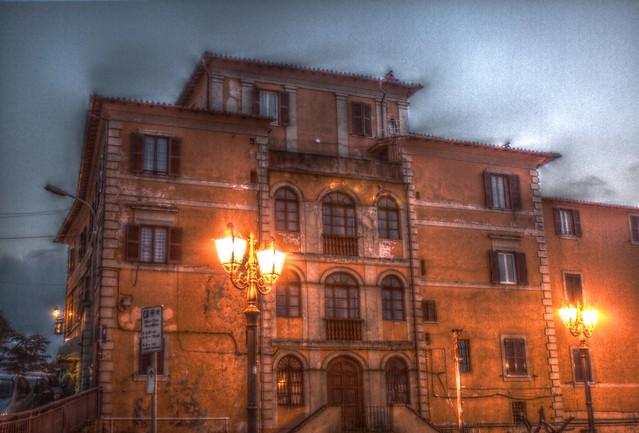 Palazzo @Rocca di Papa (HDR)