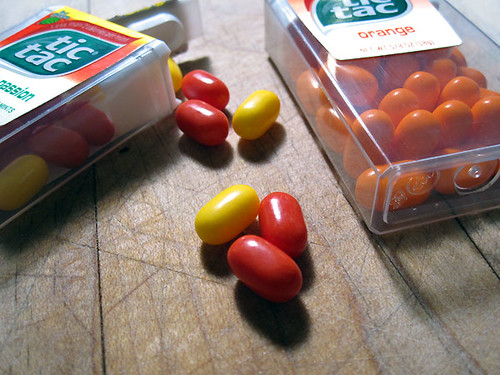 Cherry Passion and Orange Tic Tacs - The Delicious Daily 11.26.2009   by TheDeliciousLife