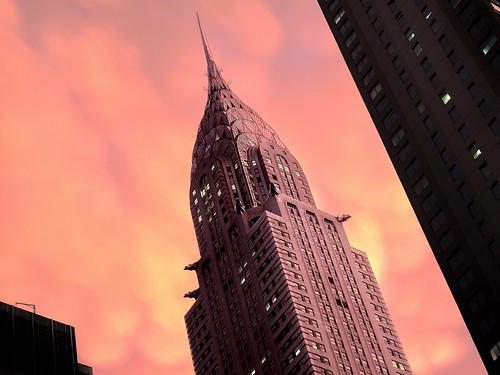 Chrysler building storm sunset 1 | by Mitch Waxman