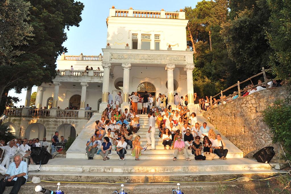 Festival di fotografia a Villa Lysis | 19 agosto 2009, Capri