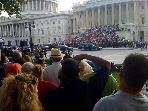 Senator Kennedy's Motorcade at the Senate | by Rory Finneren
