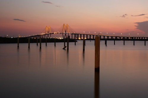 longexposure bridge pink sunset sky reflection clouds lights texas dusk baytown tx houston explore pilings shipchannel laporte cablestayed hiwi fredhartmanbridge theair canonefs1755mmf28isusm houstonitsworthit highway146 img7228 assignmenthouston40 20afflictions takenfrombaylandparkmarina