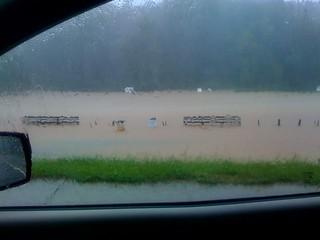 Noonday Soccer Park flooded