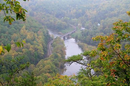 railroad trestle appalachian nolichucky