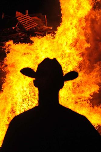 ASU Homecoming Bonfire
