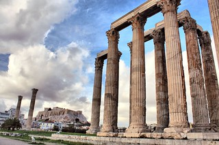 The Temple of Olympian Zeus, Athens | by christine zenino