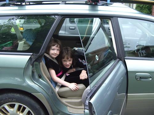Kids in car