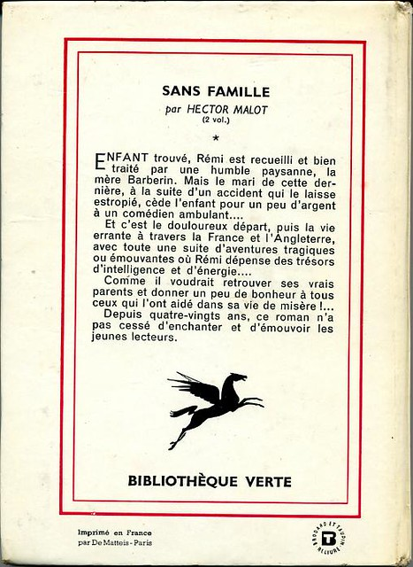 Sans famille Tome II by, Hector MALOT